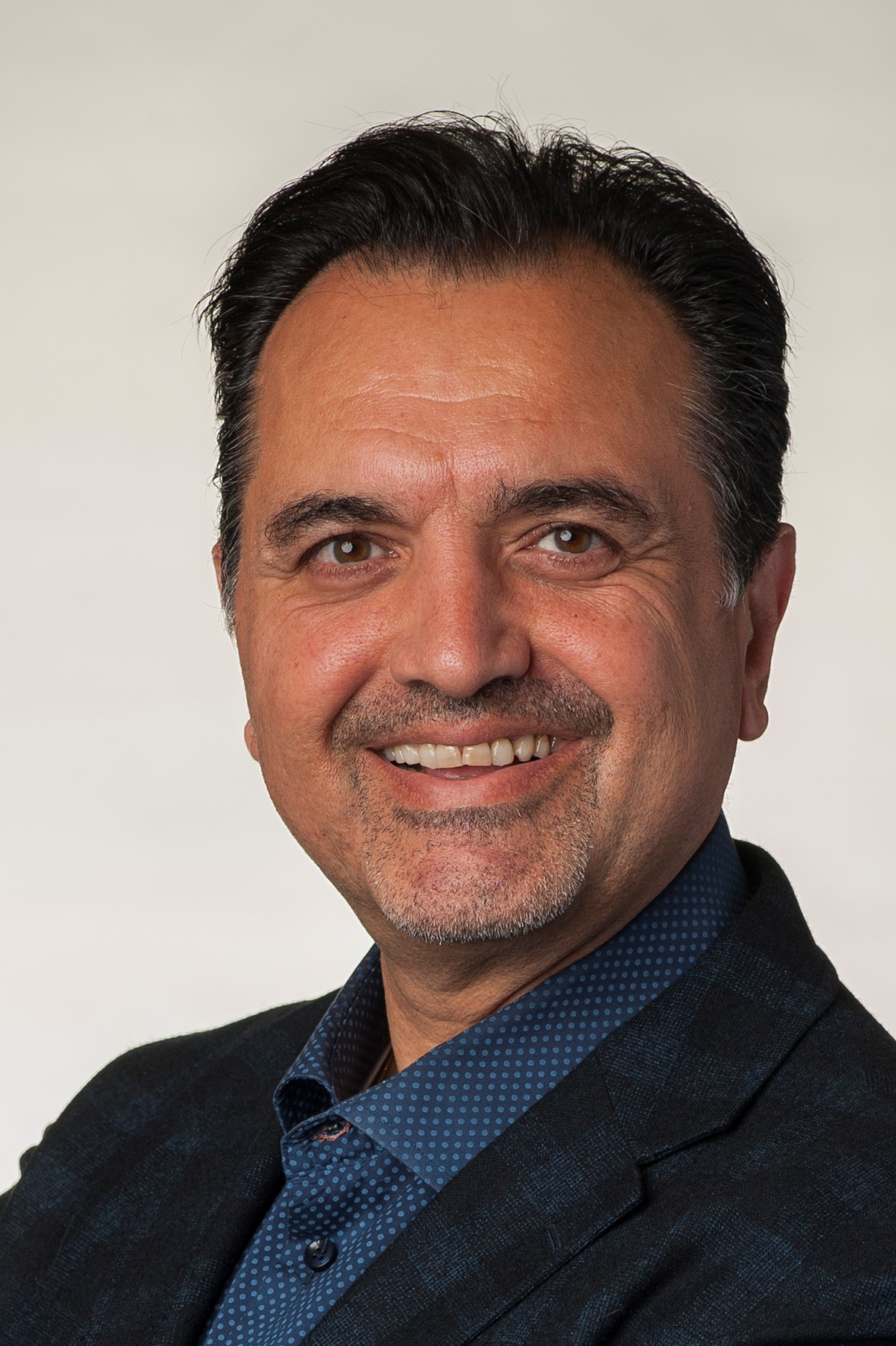 headshot of Navid Haghighi